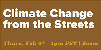 climate change from the streets