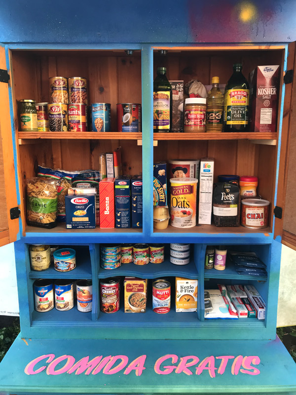 food pantry interior